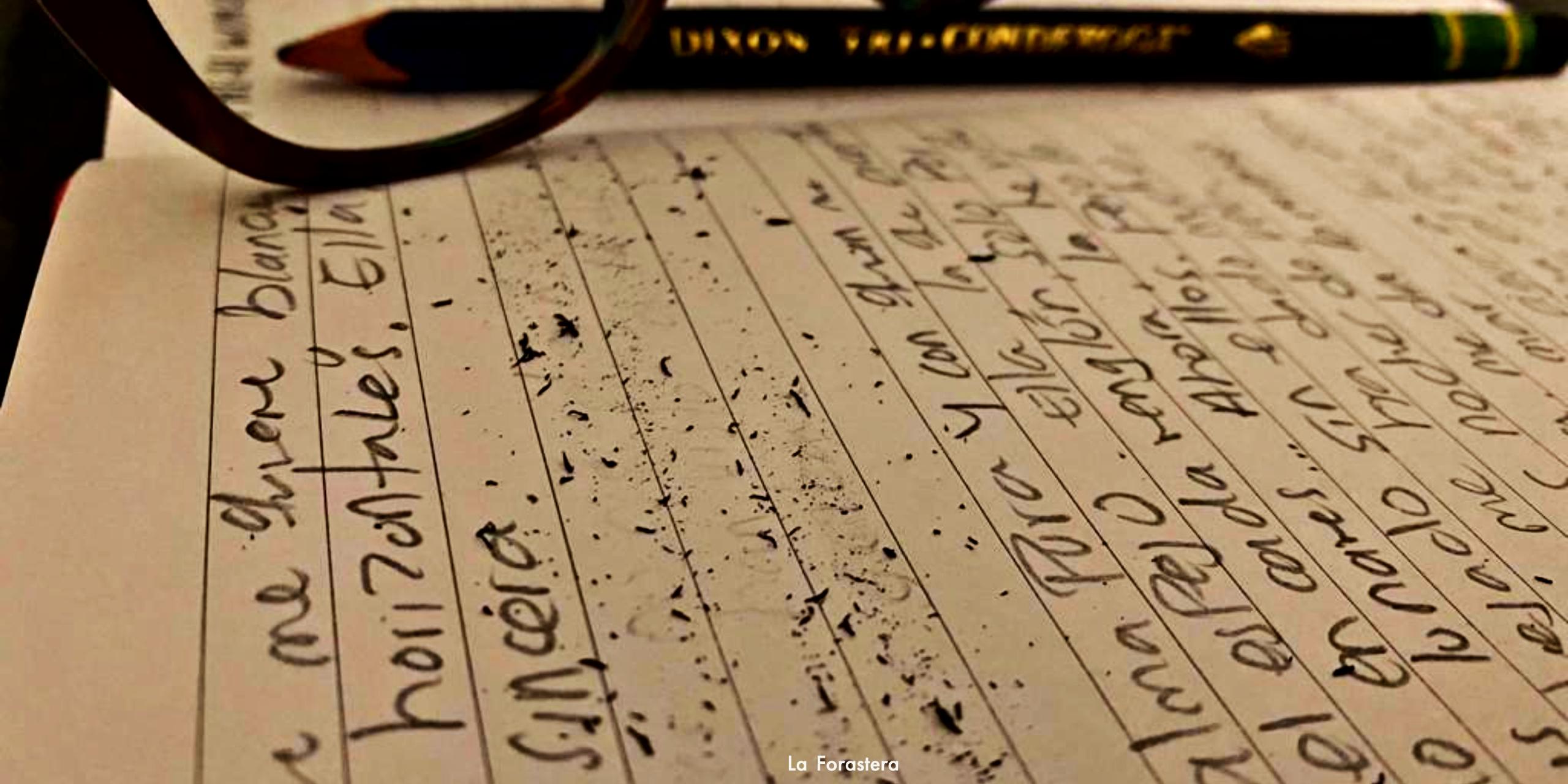 A donde vaya, escribo.